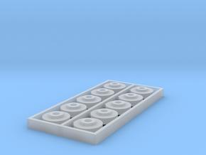 HO 10PK KMT 8.2X2.1X2.67 THK SHLDR WSHR in Smooth Fine Detail Plastic