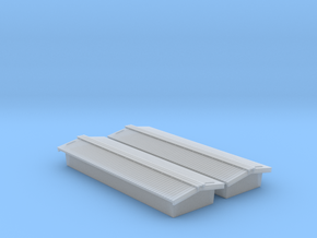 Civil War Era - Standard Peaked Roof (2-pack) in Smooth Fine Detail Plastic