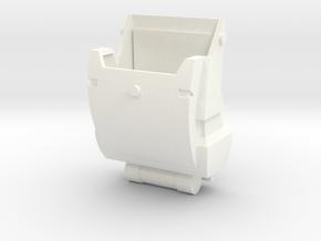 Clone Trooper Backpack 12 in  in White Processed Versatile Plastic