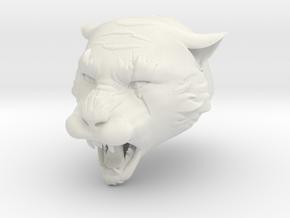 Warcat in White Natural Versatile Plastic