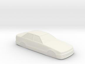 1/32 Scale VL Commodore Slot Car Body Shell in White Natural Versatile Plastic