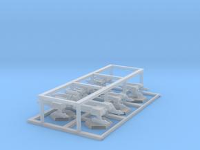 7000 Scale Lyran Fleet Builder Collection CVN in Smooth Fine Detail Plastic