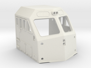 Metra EMD F40PHM-2 Cab O Scale  in White Natural Versatile Plastic