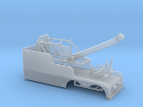 1/87th Tandem  22' Big Stick tow wrecker body in Smooth Fine Detail Plastic