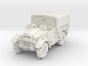 Morris CS8 (open) covered 1/76 in White Natural Versatile Plastic