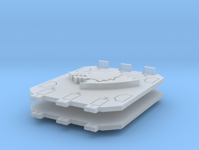 Space Vikings Jericho tank doors #1 in Smooth Fine Detail Plastic
