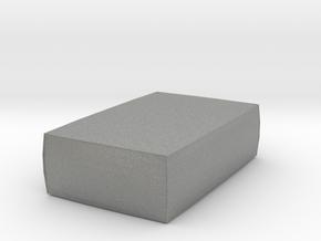 Miniature 1:48 Pouf in Gray PA12: 1:48 - O