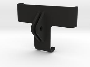 GRIPPEQUIP IPHONE 11 TO GOPRO MOUNT ADAPTER in Black Natural Versatile Plastic