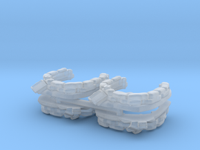 Sandbag Emplacement (x4) 1/285 in Smooth Fine Detail Plastic