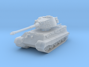 Tiger II H (skirts) 1/285 in Smooth Fine Detail Plastic