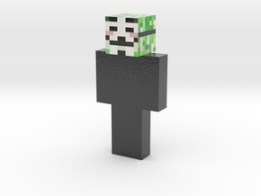 hacker | Minecraft toy in Glossy Full Color Sandstone