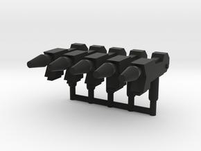 Sting Laser Pistol 3mm in Black Natural Versatile Plastic