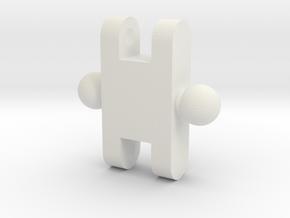 Link_1010 in White Natural Versatile Plastic