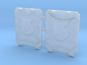 Space Dragons Light Tank Door Veteran Set in Smooth Fine Detail Plastic
