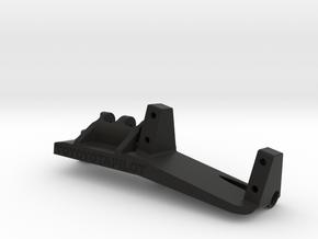 Capra rear steer servo mount anti squat in Black Natural Versatile Plastic