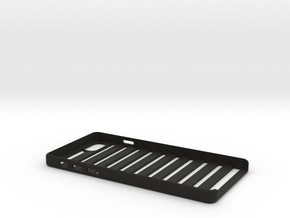 Phone case in Black Natural Versatile Plastic