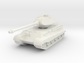 Tiger II P (Skirts) 1/120 in White Natural Versatile Plastic
