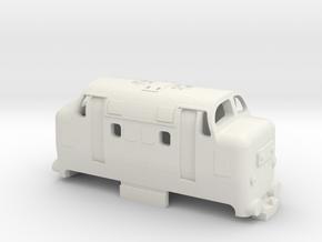 OO9 mini deltic in White Natural Versatile Plastic