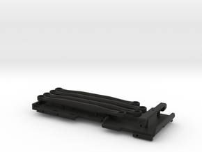 Chassis Parts for Micro Shark Conversion JLU + C10 in Black Natural Versatile Plastic