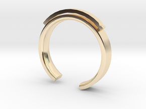Lady Shackle Ring - Sz. 6 in 14K Gold