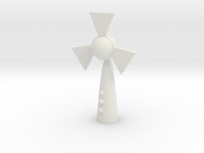 Wireless electric fan in White Premium Versatile Plastic