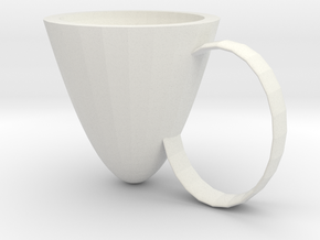 Water cup in White Natural Versatile Plastic