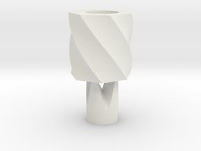 Bloom綻放 in White Natural Versatile Plastic