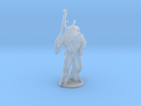Krampus DnD miniature fantasy games rpg horror in Smooth Fine Detail Plastic