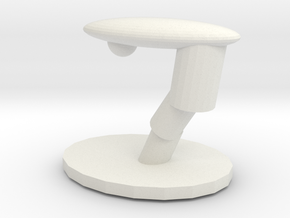 Table lamp in White Natural Versatile Plastic