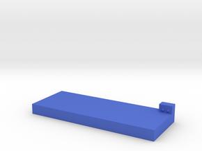 Smart mattress in Blue Processed Versatile Plastic