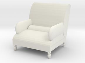 very cool chair in White Natural Versatile Plastic: Medium