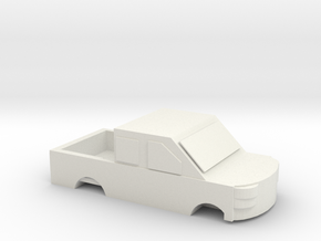 Car shape slippers in White Natural Versatile Plastic