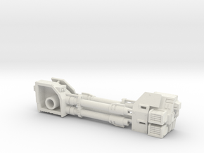 Dreadnought Autocannon 2 left arms in White Natural Versatile Plastic