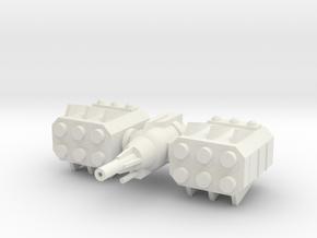 Orbital-Platform-1 in White Natural Versatile Plastic