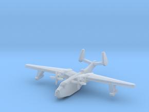 US Martin PBM5 Mariner seaplane bomber 1:1200 WW2 in Smooth Fine Detail Plastic