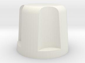 8502 1.25 in White Natural Versatile Plastic