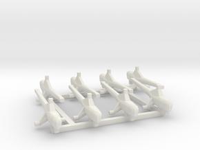 Westland WS-51 DragonFly 1:700 in White Natural Versatile Plastic