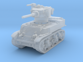 M5A1 Stuart 1/200 in Smooth Fine Detail Plastic