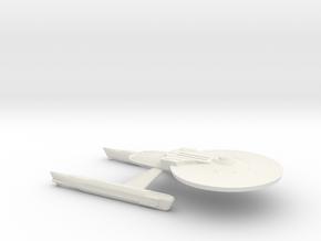 USS Ares NCC-1650 (Refit) / 15cm - 5.9in in White Natural Versatile Plastic