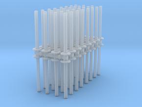 Traffic Pylon (x64) 1/87 in Smooth Fine Detail Plastic
