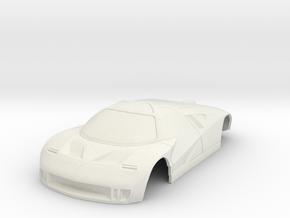 Ford GT90 Concept Car miniZ 102mm Wide in White Natural Versatile Plastic