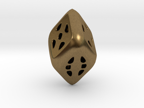 D6 Diamond in Natural Bronze
