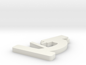 microscope pendant bigger in White Natural Versatile Plastic
