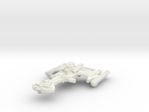 Rokor Class Cruiser in White Natural Versatile Plastic