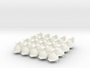 20 x Austrian Infantry in White Processed Versatile Plastic