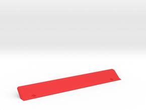 Low Pressure Lip in Red Processed Versatile Plastic