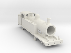 Lbscr (I 3) - Maunsell Roof w/ Round dome in White Natural Versatile Plastic