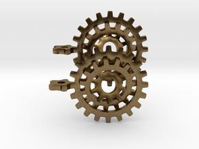 Gearrings in Natural Bronze