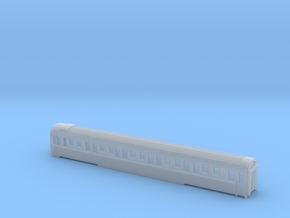 CIWL/SNCF Schlafwagen WL P Scale TT in Smooth Fine Detail Plastic