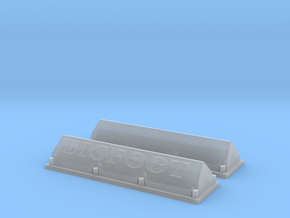 1/25 Bigfoot Valve Covers in Smoothest Fine Detail Plastic